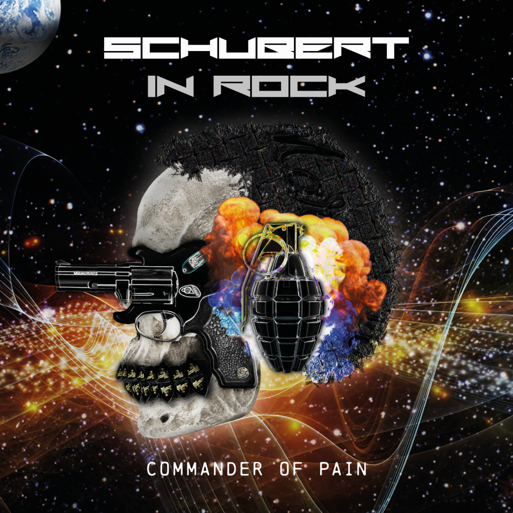 Cover Design CD. Schubert in Rock.