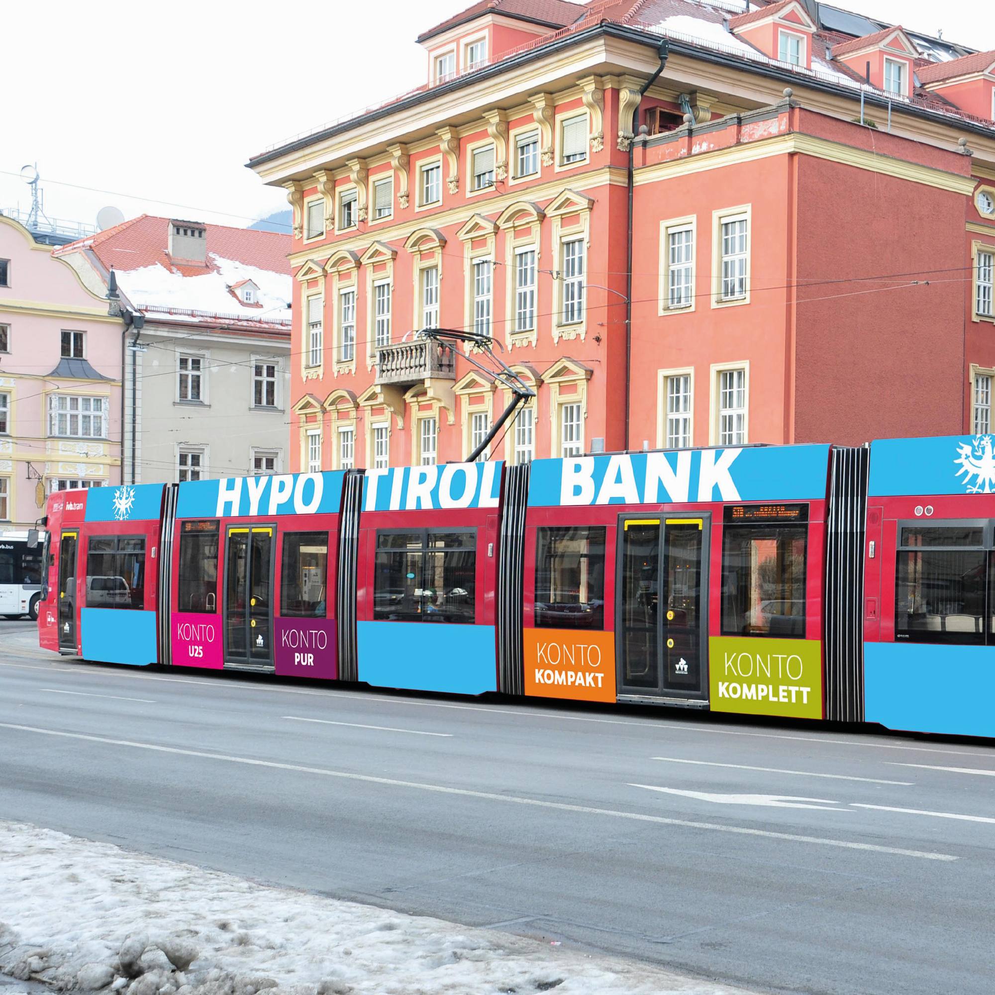 TRAM-Branding (Preview). Hypo Tirol Bank The Great Creative Shark